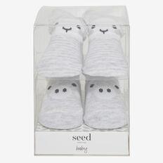 2 Pack Farm Sock Gift Box  GREY  hi-res