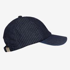 NYC Stripe Cap  NAVY STRIPE  hi-res