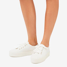 Billie Sneaker  WHITE BROIDERY  hi-res