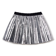 Pleated Skirt  SILVER  hi-res