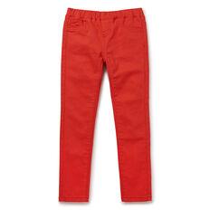 Slim Jean  APPLE RED  hi-res