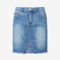 Denim Midi Skirt  CLASSIC WASH  hi-res