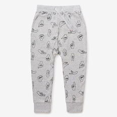 Hand Yardage Trackie  CLOUDY MARLE  hi-res