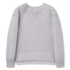 Metallic Sweater  SILVER  hi-res