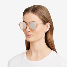 Ivy Round Sunglasses  ROSE GOLD  hi-res