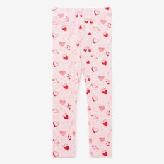 Heart Yardage Legging  ICE PINK MARLE  hi-res