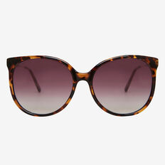 Mia Lady Round Sunglasses  TORT  hi-res