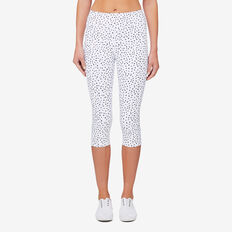 Crop Mesh Legging  SNOW WHITE  hi-res