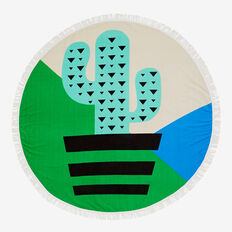 Cactus Round Towel  CACTUS  hi-res