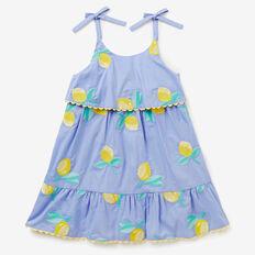Lemon Embroidered Dress  BLUEBELL  hi-res