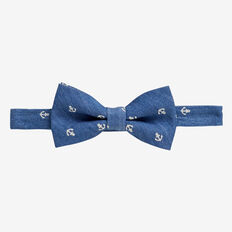 Anchor Bow Tie  CHAMBRAY  hi-res