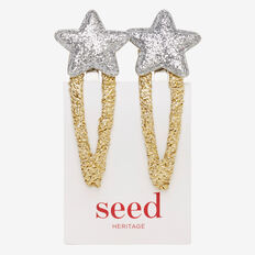 Silver Star Gold Snaps  METALLIC  hi-res