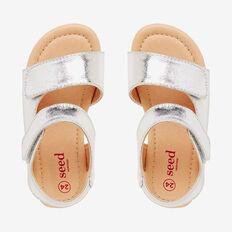 Metallic Sandal  SILVER  hi-res