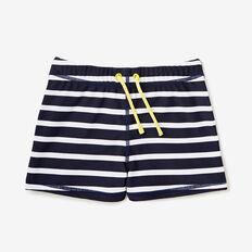 Stripe Swim Short  MIDNIGHT BLUE  hi-res
