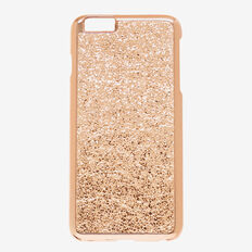 Metallic Crackle Phone Case 6+  ROSE GOLD  hi-res