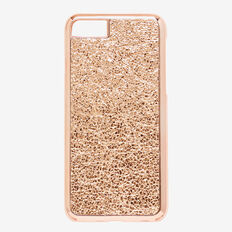 Metallic Crackle Phone Case 7  ROSE GOLD  hi-res