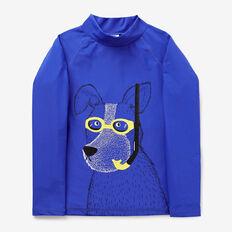 Dog Rashie  BLUE BOLT  hi-res