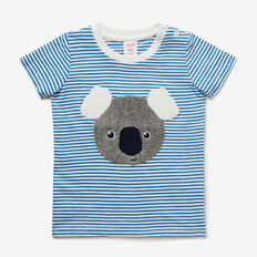 Stripe Koala Tee  DEEP BLUE  hi-res