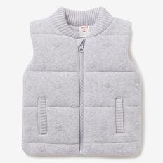 Spot Knit Vest  CLOUD  hi-res