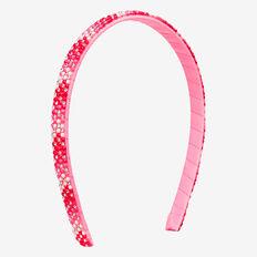 Pink/Red Jewel Headband  MULTI  hi-res