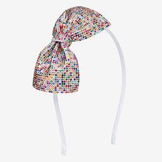 Jewel Bow Headband  MULTI  hi-res
