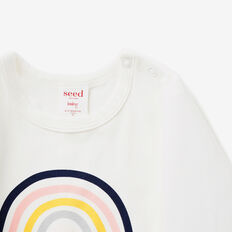 Rainbow Tee  CANVAS  hi-res