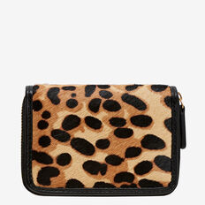 Hazel Mini Wallet  LEOPARD  hi-res