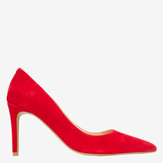 Zoe Pointed Pump  BOLD RED  hi-res