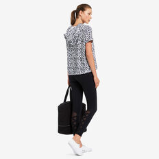 Expandable Tote  BLACK  hi-res