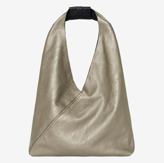 Alexa Triangle Bag  BLACK/ PEWTER  hi-res