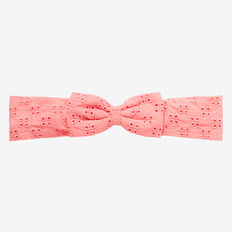 Broderie Fabric Headband  POPPY RED  hi-res