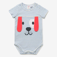 Novelty Puppy Bodysuit  NIAGARA BLUE  hi-res