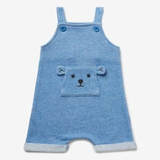 Bear Pocket Overalls  NIAGARA BLUE  hi-res