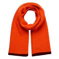 Ribbed Knit Scarf  RUBY RED  hi-res