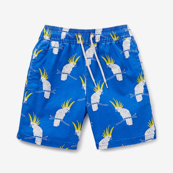 Cockatoo Yardage Short  DEEP BLUE  hi-res