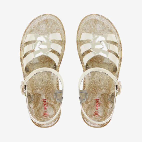 Jelly Knot Sandal  GOLD  hi-res