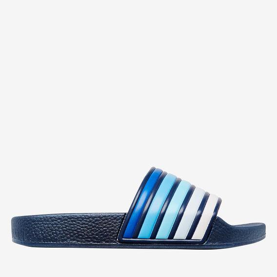 Stripe Slider  NAVY  hi-res