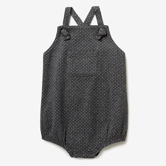 Double Knit Onesie  SLATE MARLE  hi-res