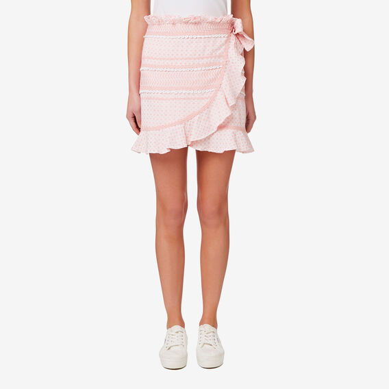 Decorative Trim Skirt  SOFT PINK  hi-res