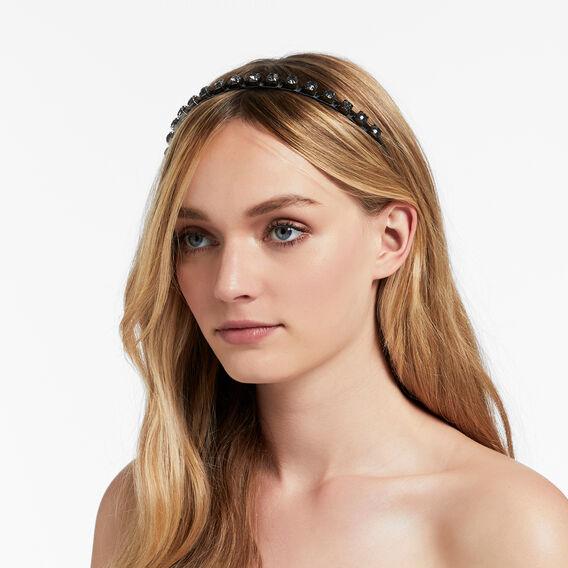 Stone Headband  BLACK  hi-res