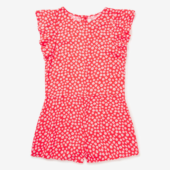 Floral Playsuit  STRAWBERRY  hi-res