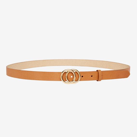 Tanya Ring Belt  TAN  hi-res