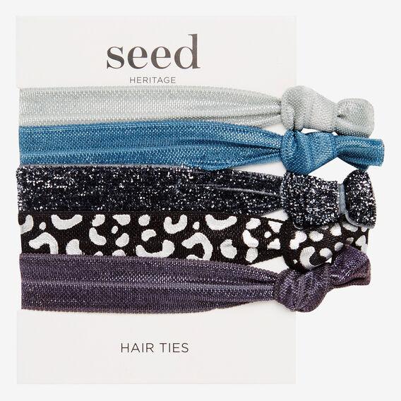 Elastic Hair Pack  DENIM  hi-res