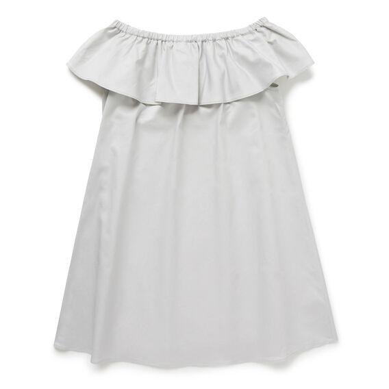 Off-Shoulder Dress  DOVE GREY  hi-res
