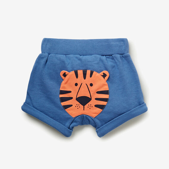 Novelty Tiger Short  NIAGARA BLUE  hi-res
