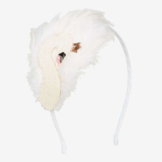 Swan Feather Headband  MULTI  hi-res
