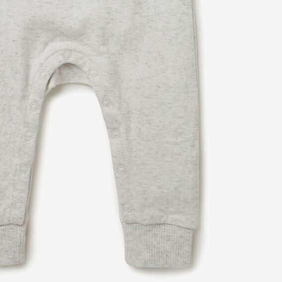 Double Knit Big Bear Jumpsuit  ICY MARLE  hi-res