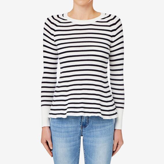 Stripe Flare Knit  STRIPE  hi-res