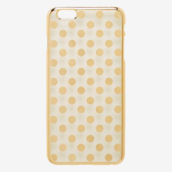 Spot Phone Case 6+  GOLD  hi-res