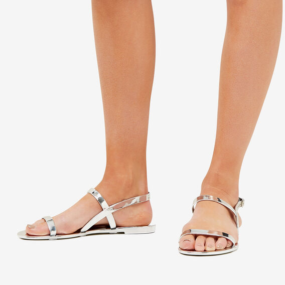 Cindy Jelly Sandal  SILVER  hi-res